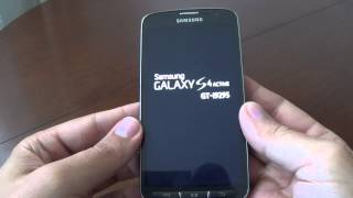 Samsung Galaxy S4 Active I9295 - How to unlock pattern code by hard reset
