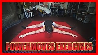 Stretching & Strenght Exercises for Powermoves - part 1 thumbnail