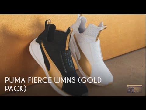 56988c5c8446 PUMA FIERCE WMNS (GOLD PACK)   PEACE X9 - YouTube