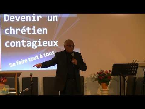 Prédication 20 janvier 2018  Devenir un chrétien contagieux  Past. Karl JOHNSON