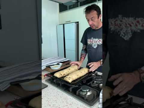 Raisin bread brioche in a housse part 3
