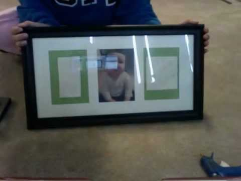 baby hand foot print frame youtube