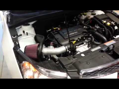 2013 Chevy Cruze K Amp N Vs Stock Air Intake Youtube