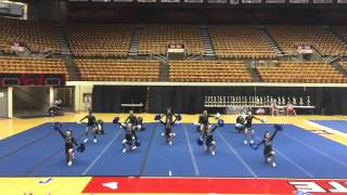 Repeat youtube video 2016 OSU Cheerleading Competition MMS