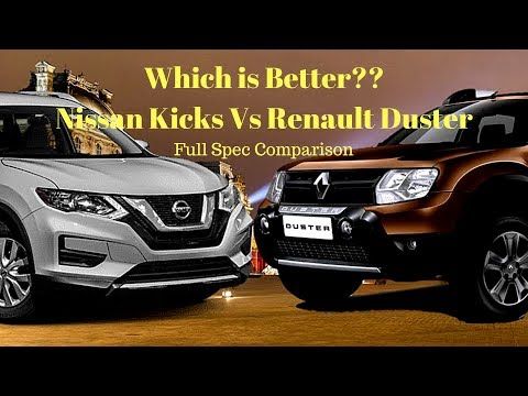 Nissan Kicks vs Renault Duster