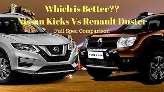 Nissan Kicks vs Renault Duster