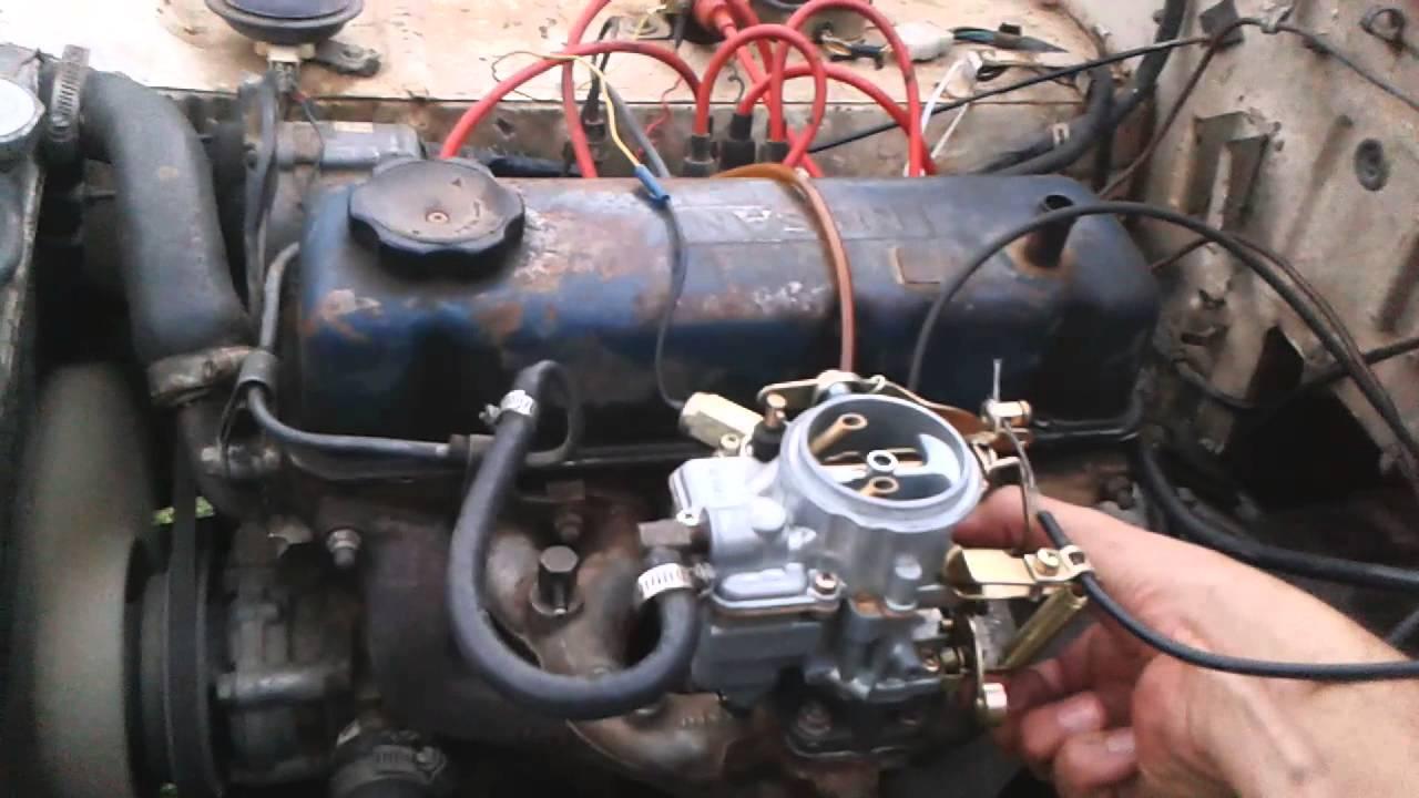 Nissan A12 Engine Lj50 Youtube