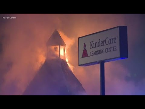 Brooklyn Park KinderCare a total loss after early morning fire