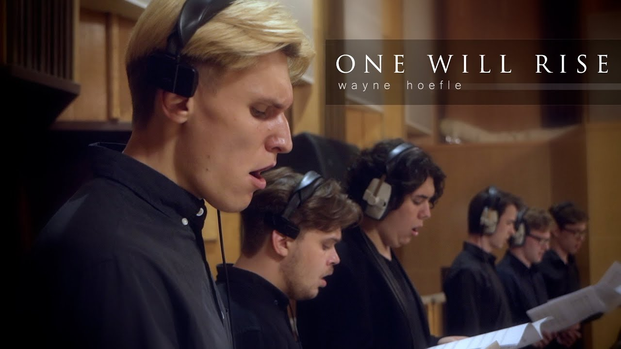 """New video from the Remote Recording Session in Moscow  - Wayne Hoefle """"One will Rise"""""""