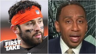 Baker Mayfield is ballin'! - Stephen A. is impressed with the Browns' QB | First Take