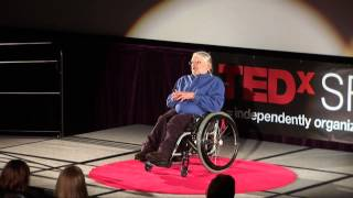 Able Privilege, Re-Conceptualizing Disability: Alan Larson at TEDxSFA