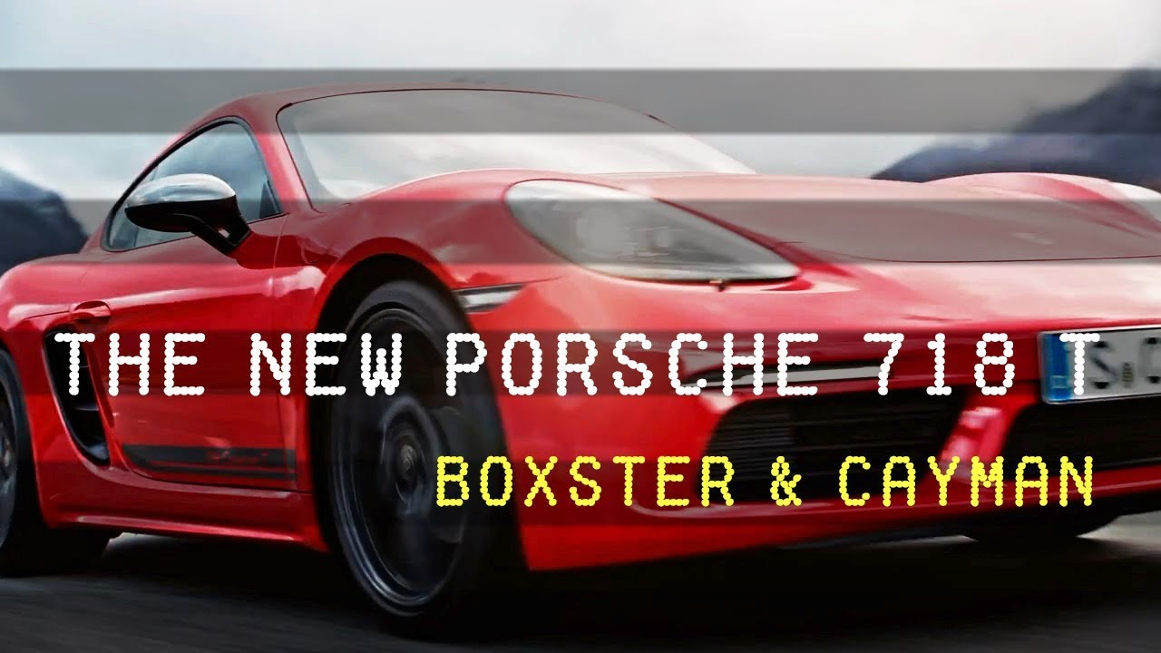 2019 Porsche 718 T The Hardcore Boxster Cayman Youtube