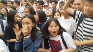 Dj Đức Đạt và học sinh NQ