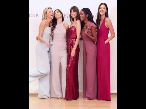 7cd0983c6b7 Dessy Group Spring 2019 styles - YouTube