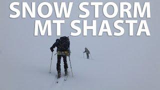 Sh*tty Skinning | Mt. Shasta in a Storm