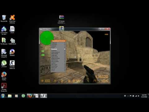 Hacker CS 1.6 Steam e NoSteam com SXE ligado PT BR 2016 Bem Explicado Hacker 01
