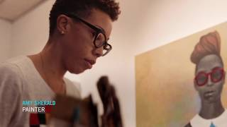 Amy Sherald - Portrait Artist of Michelle Obama
