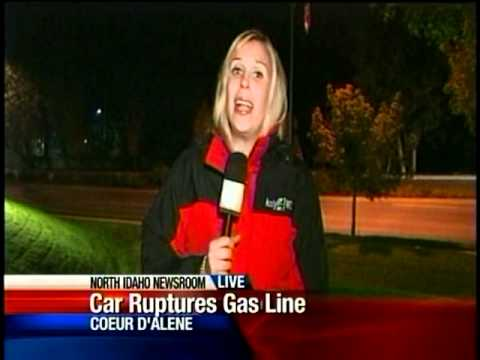 Highway 95 reopens after gas line rupture