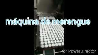 máquina continua para fabricar merengue