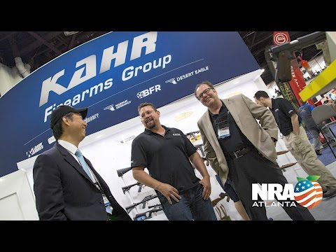 Kahr Firearms Group New Products - NRA Annual Meetings 2017