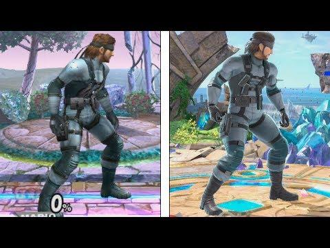 Super Smash Bros Ultimate | Snake Evolution | 2008-2018