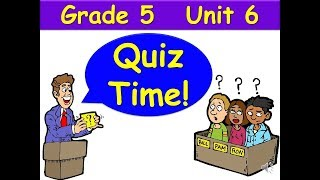 Quiz Time G5 Unit 6 Grammar Goals Passive Voice Audio