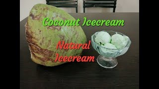 Coconut Icecream | नारीयल आइस्क्रीम | Natural Icecream