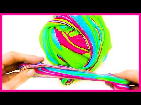 15 ODDLY SATISFYING CRAFTS AND DIYs || DIY RAINBOW SLIME