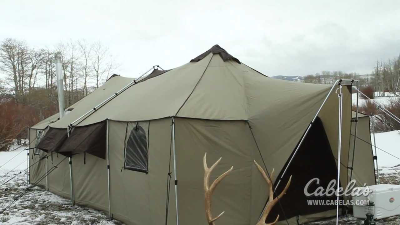 & Cabelau0027s Ultimate Alaknak™ Tent - YouTube