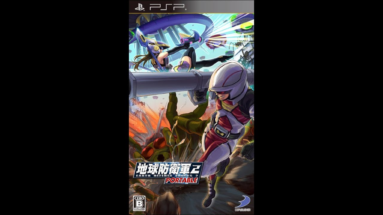 Earth defense force psp