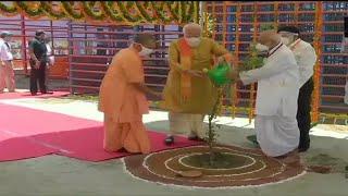 PM Modi Plants 'parijat' Sapling At Ram Lalla Temple