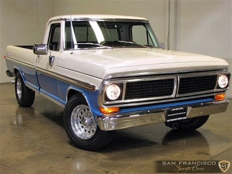 1970 Ford F250 Pickup For Sale Classic Ford Ranger Xlt