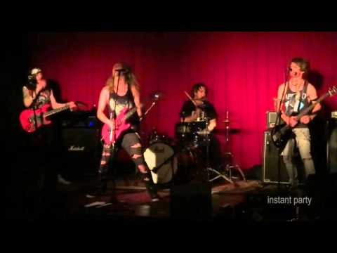 HOT ANGEL  Aussie glam rock live from 2013