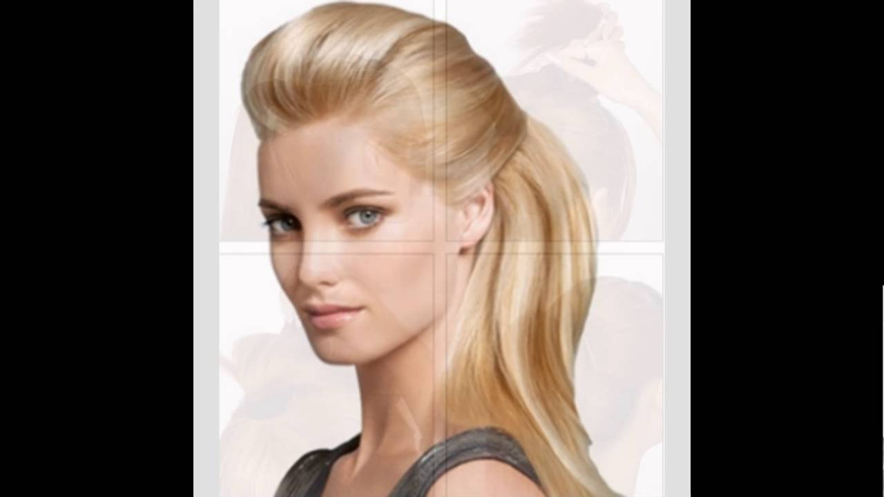 bump- bouffant hairstyle