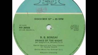 B. B. BONSAI  PRINCE OF THE NIGHT ©1985