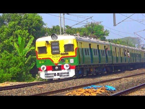 First Passenger Train In Eastern Rail India Ran From Howrah - Bardhaman Main Line Local