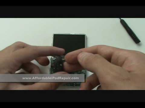 Tutorial - iPod Classic DIY Repair Complete Disassembly, LCD, Hard Drive, Battery
