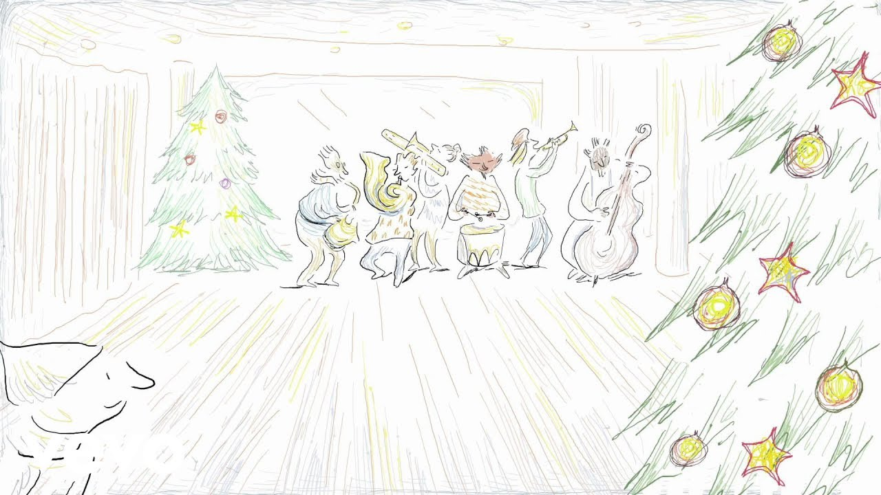 Jazz at Lincoln Center Orchestra - Jingle Bells Animated Video