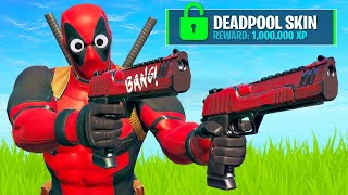DEADPOOL SKIN Unlock and DEADPOOL EVENT!! (Fortnite Battle Royale)
