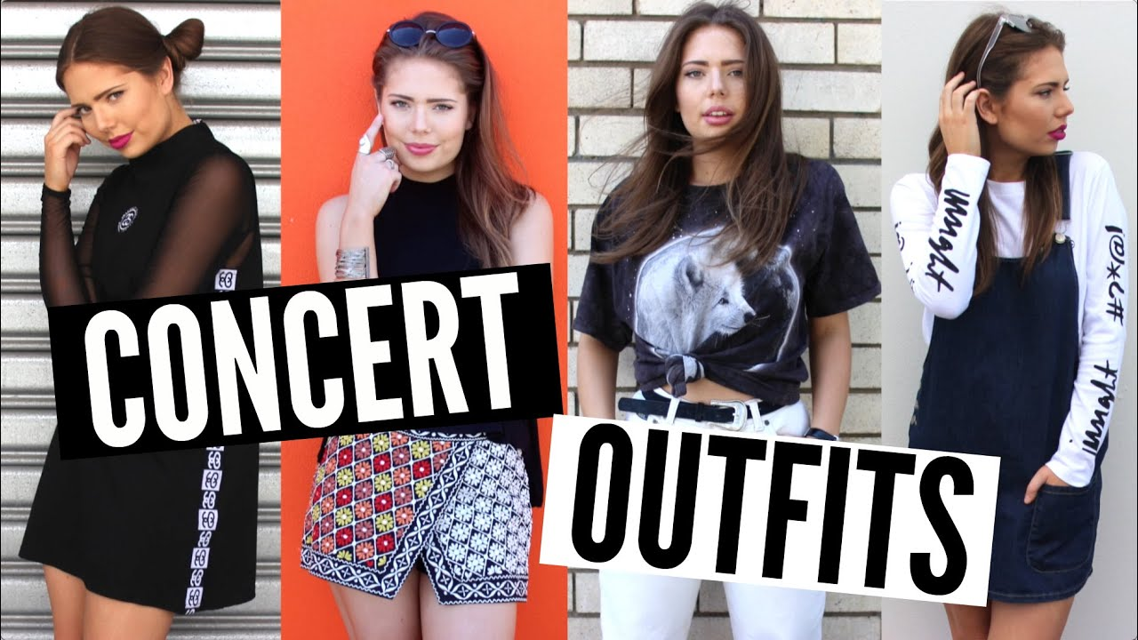 What to Wear to a Concert | Steal The Spotlight - YouTube