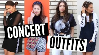 What to Wear to a Concert | Steal The Spotlight