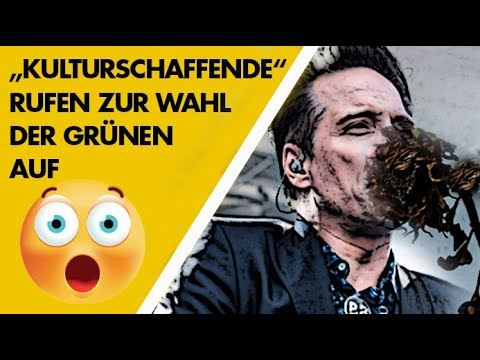 """""""Kulturschaffende"""" rufen zur Wahl der Grünen auf"""