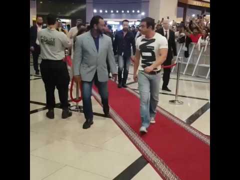 Salman khan in arabian centre