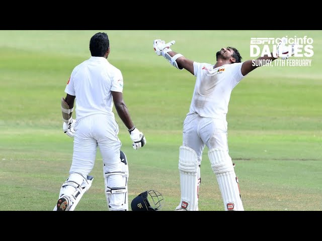 SL's record last wicket stand in a chase   Daily Cricket News