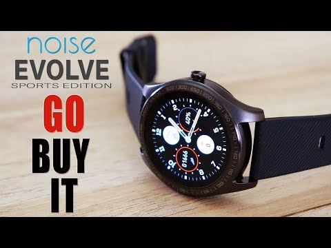 Noisefit EVOLVE Sport Smart Watch REVIEW - Pretty and Smart