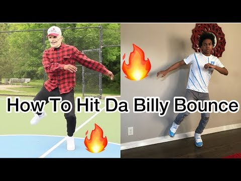 HOW TO DO THE BILLY BOUNCE DANCE | OFFICIAL TUTORIAL