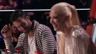 'The Voice': Adam Levine Calls Blake Shelton & Gwen Stefani's Hilarious Arguments Like a Sportsca…