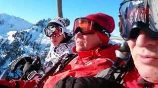 Лез Арк Парадиски Французские Альпы Les Arcs 1950(Горнолыжный отдых во французских Альпах на курорте Парадиски в городке Лез Арк 1950 в январе 2014 года., 2014-01-27T18:05:19.000Z)