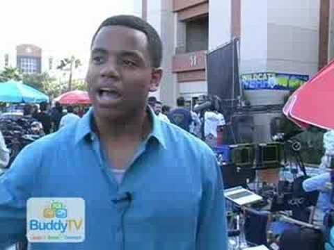 BuddyTV  with Tristan Wilds 90210