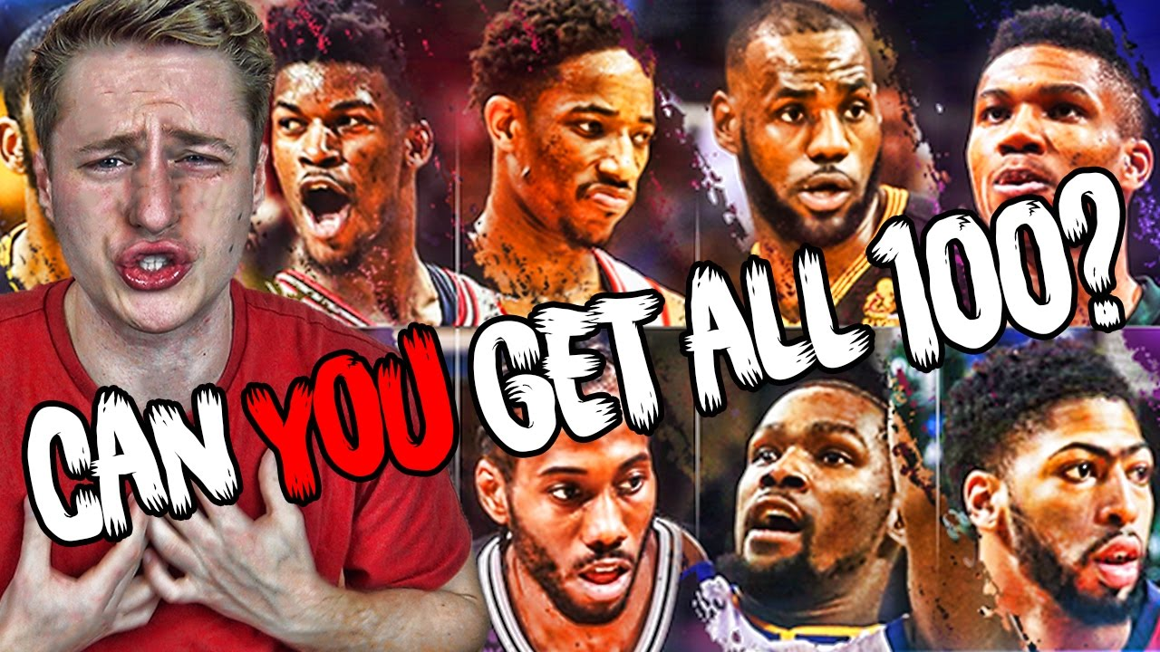 can you name the nba s current 100 best players youtube